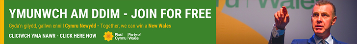 Join Plaid Cymru for Free