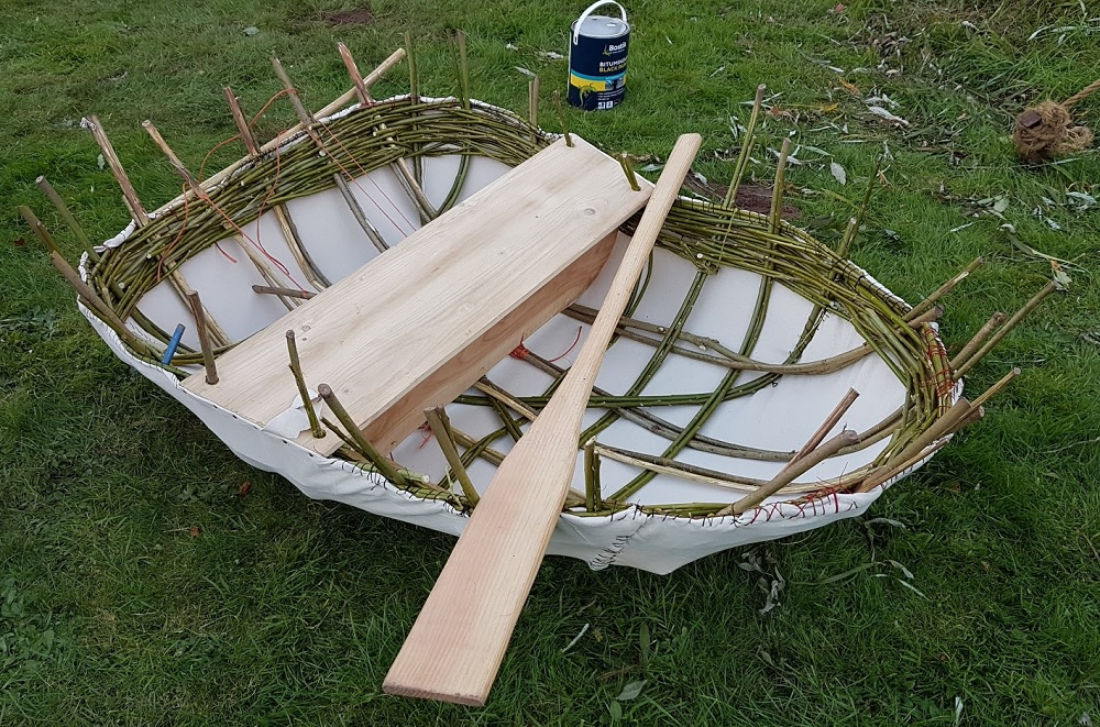 How I got to grips with the dying craft of making a Welsh coracle ...