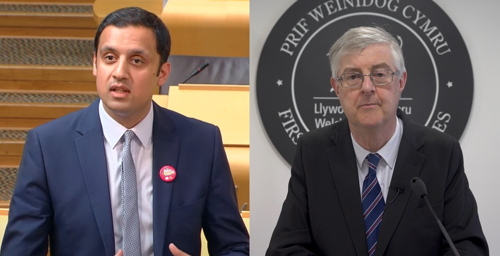 Scottish Labour leader quizzed over pro-indy candidates in Wales